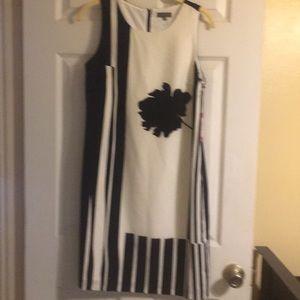 Vince Camuto Black & White dress size 6